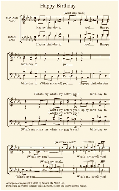 music reading app for choral singers